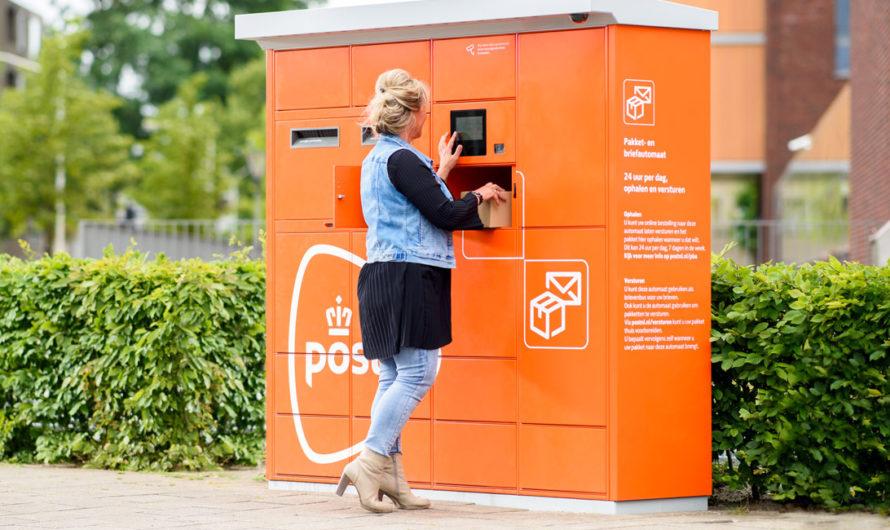 Brief- en pakketautomaat PostNL