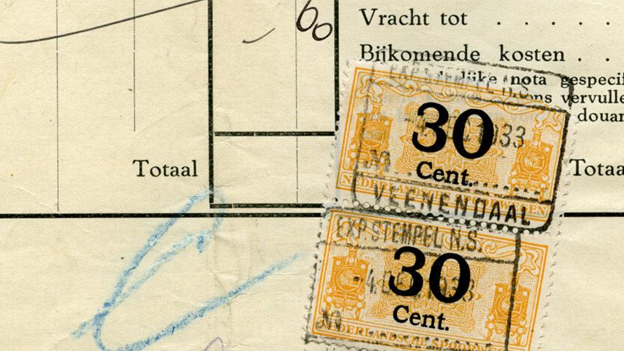 De trein in Veenendaal